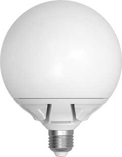 LED Skylighting G125 Globe 20W E27 3000K 270°