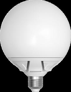 LED Skylighting G125 Globe 20W E27 3000K 270°
