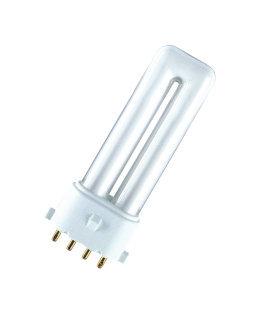 Kompakt lamp OSRAM DULUX S/E 9W 830/840 2G7